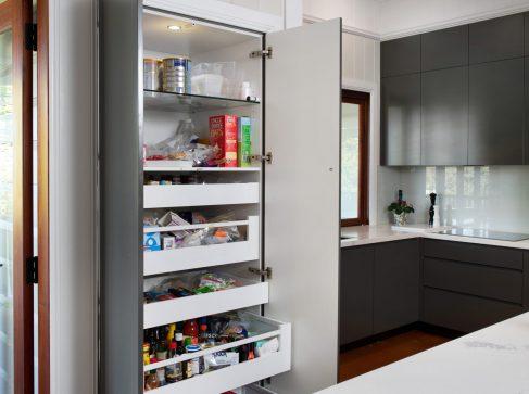 kitchen and food storage
