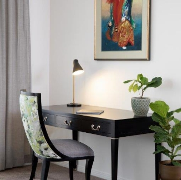 accent table and accent chair